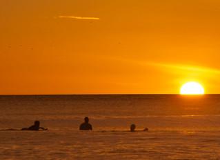 Stealing Sunset Surf