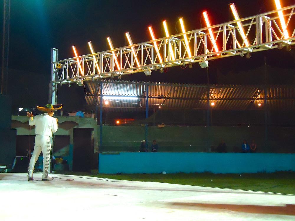 mariachi singer - Sayulita Carnival Fair in Mexico - Photo by John Early