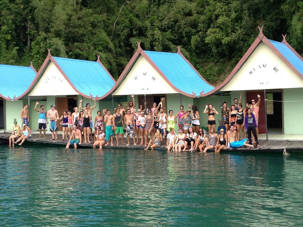 Smiley's Bungalows, Khao Sok Lake, Thailand (Photo: John Early)