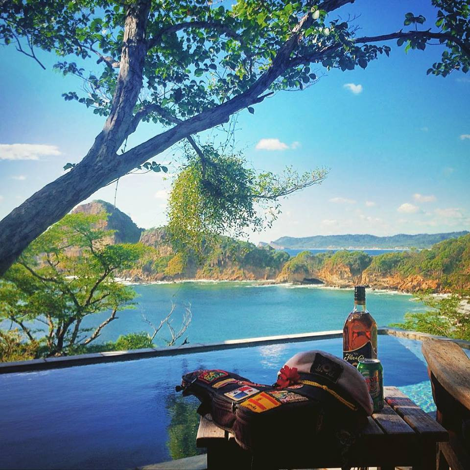 The view from Aqua Wellness Resort, Playa Gigante, Nicaragua (Photo by John Early)
