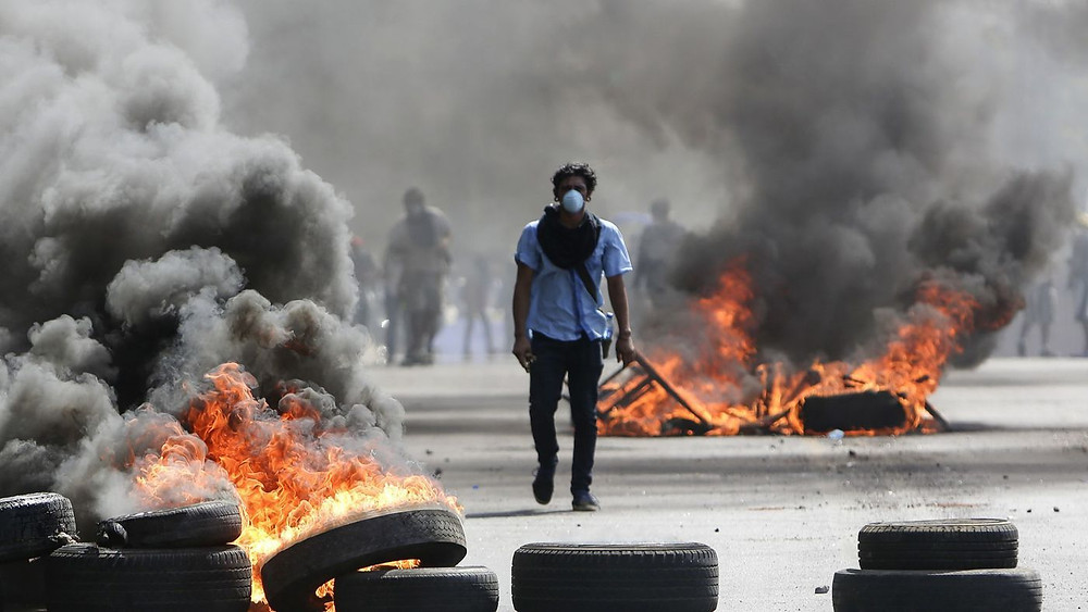 Nicaragua Protests 2018 Photo Courtesy of LA Times
