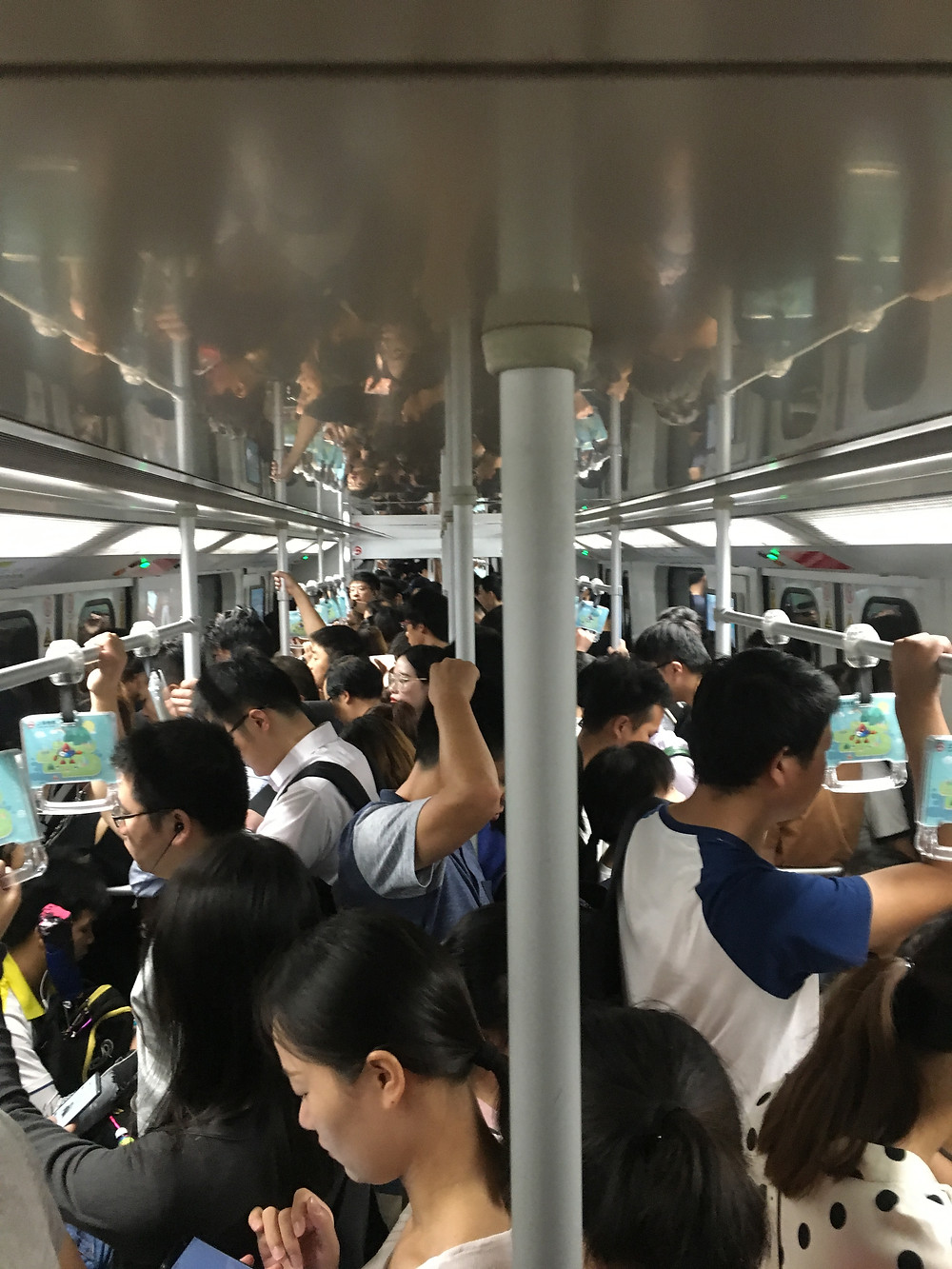 public transportation Shanghai subway