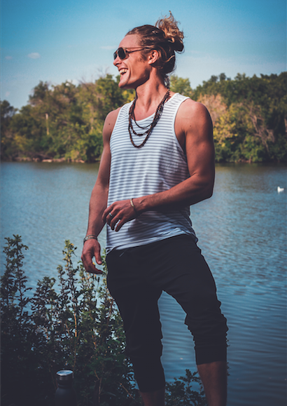 John Early LuluLemon For Men Photoshoot at Sask Soul Fest Regina 2018 (Photo by Meghan Wawryk) Lulu Lemon