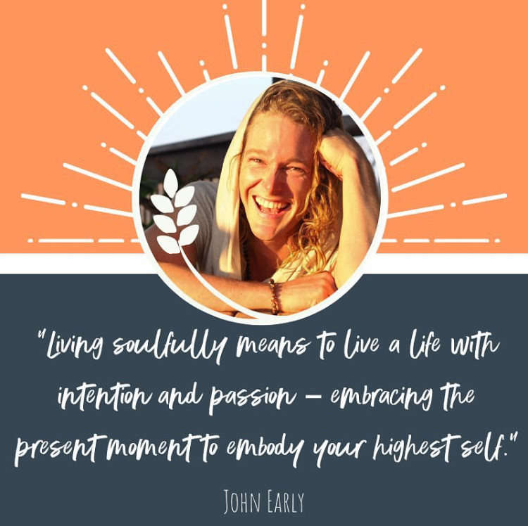 Author John Early Sask Soul Fest 2019 Promo living soulfully passion intention