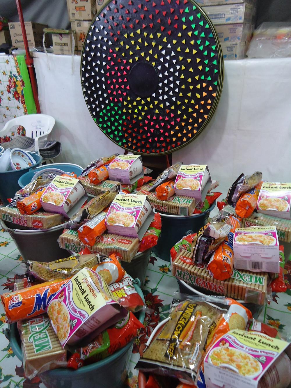 Grocery darts - Sayulita Carnival Fair in Mexico - Photo by John Early