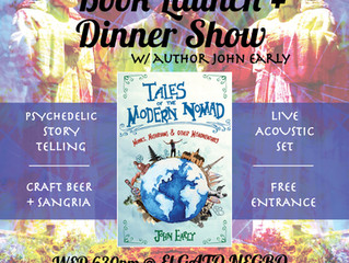 A Nicaraguan Book Launch, Circus & Psychedelic Jesus