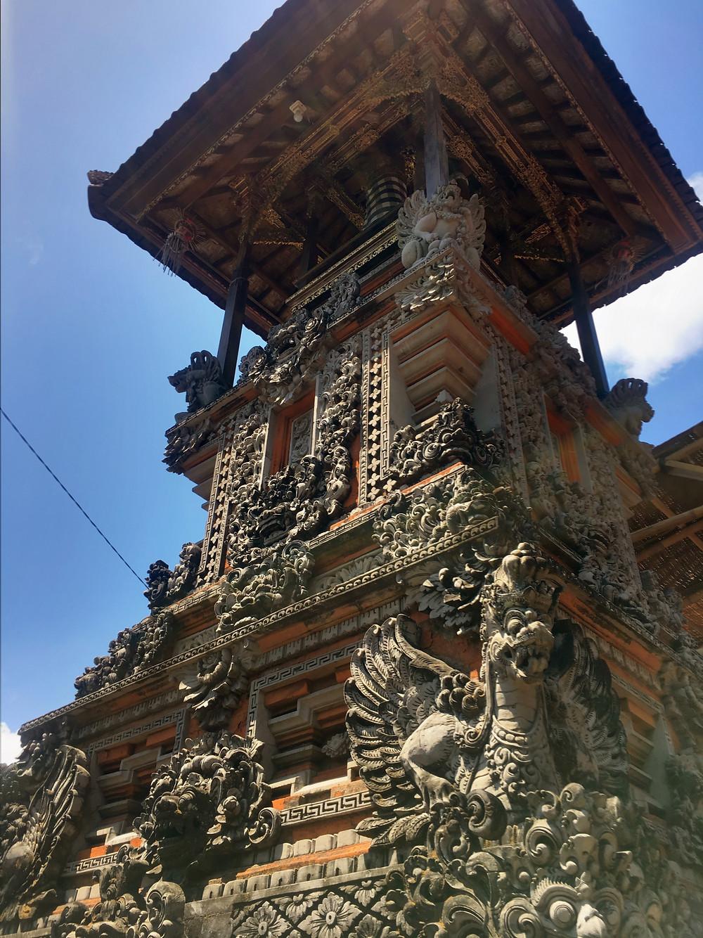 Bali architecture structure in kuta bali balinese building