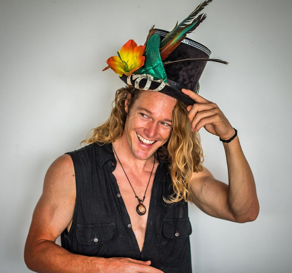 John Early with his jungle hat, Uraca, at Casa Horizon, Nicaragua - Photo by Brent Woods