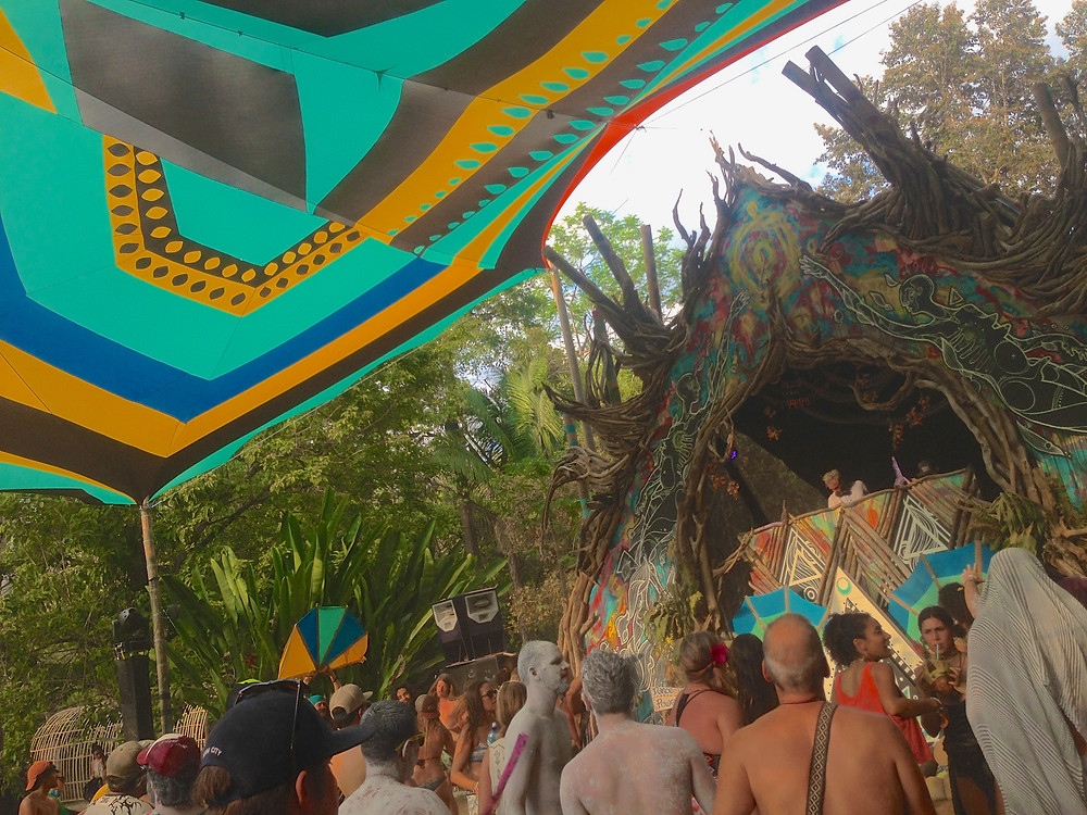 Lapa Stage day time afternoon at Envision Festival 2017 (Photo by John Early)