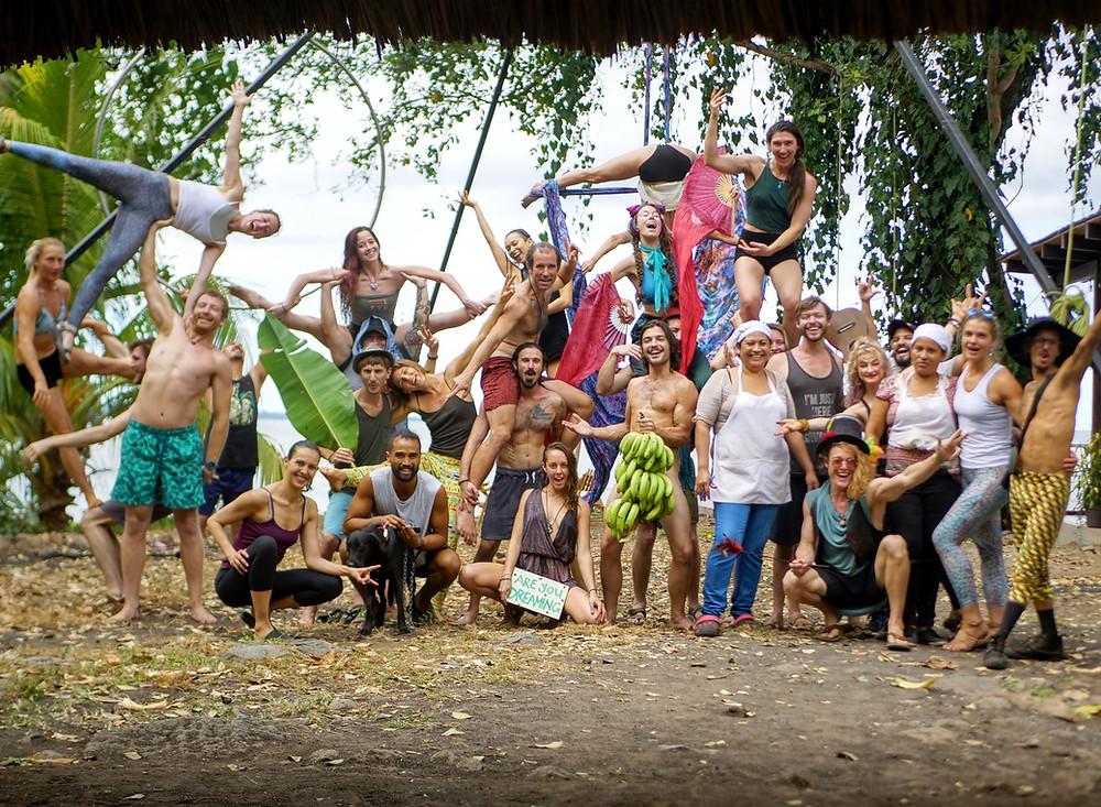 Circus Island 2021 - Momentom Collective Artist Residency El Pital Isla Ometepe