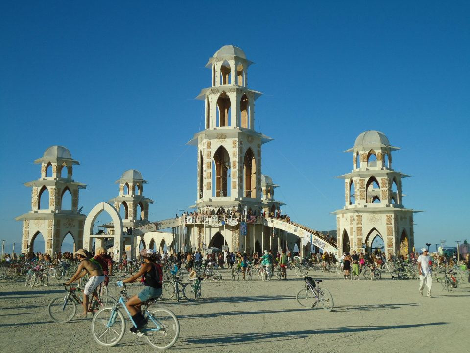 Temple of Transition, Burning Man 2011 (Photo By John Early), Black Rock City