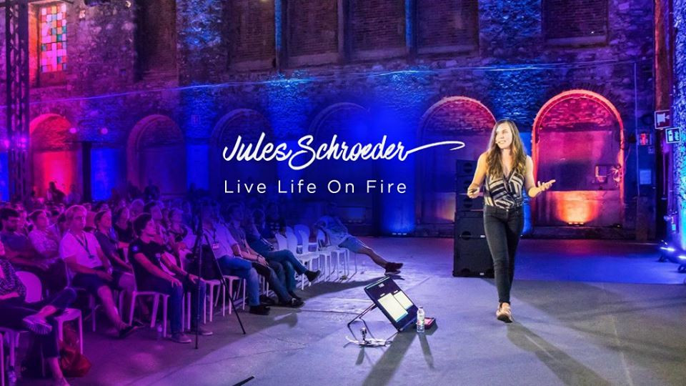Jules Schroeder live life on fire