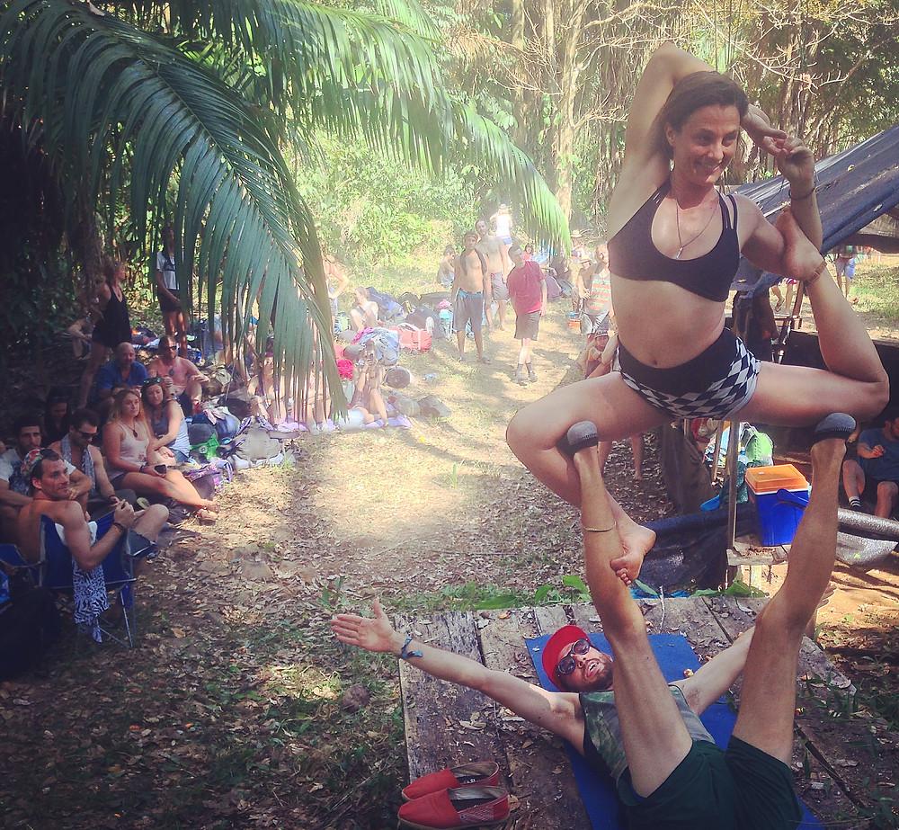 Momentom Collective Festival Lineup Acro Yoga