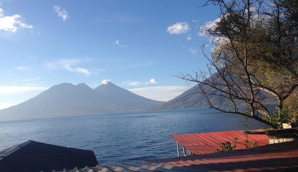 View of Lake Atitlan from San Marcos de Laguna, Guatemala (Photo By John Early)