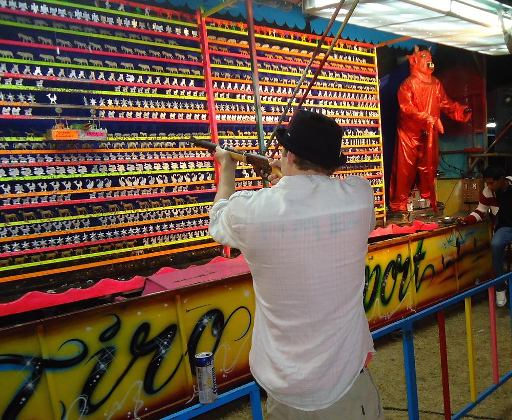 Shooting Targets - Sayulita Carnival Fair in Mexico - Photo by John Early