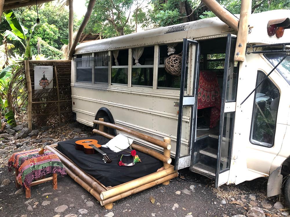 Jungle Bus at El Pital, Isla Ometepe Nicaragua Bus Life