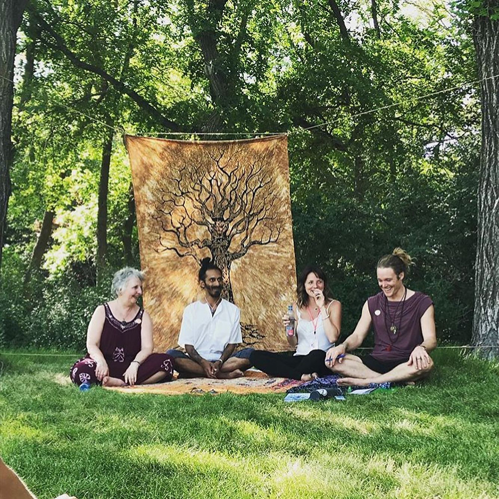Sask Soul Fest - Regina 2019 Wascana Park - Bonnie Bogner, Amy Dornback, Kevin Naidoo, John Early Inspirational Panel Yoga retreat