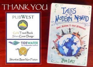 We've Got an Award Winning Book!