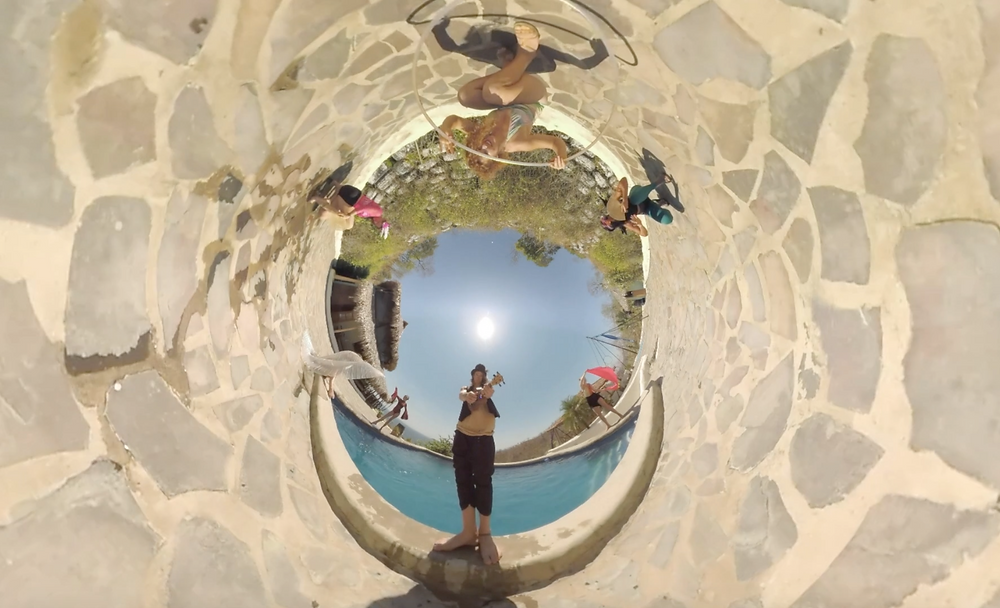 John Early the rewrite music video earlybyrd productions  psychedelic little planet mad hatter nicaragua