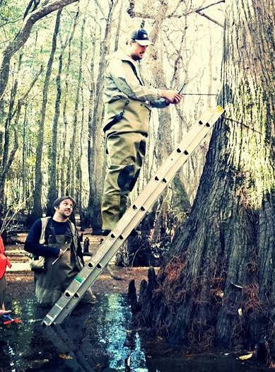 Coring in the Georgia Swamps