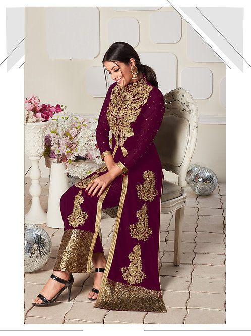 Purple Salwar Suits, New Arrival Salwar Suits, Purple Salwar Suits, Latest Salwar Suits