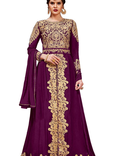 Violet Salwar Suits, New Arrival Salwar Suits, Violet Salwar Suits, Latest Salwar Suits