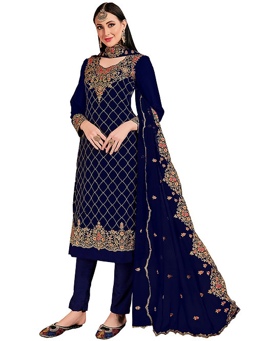 Blue Salwar Suits, New Arrival Salwar Suits, Blue Salwar Suits, Latest Salwar Suits
