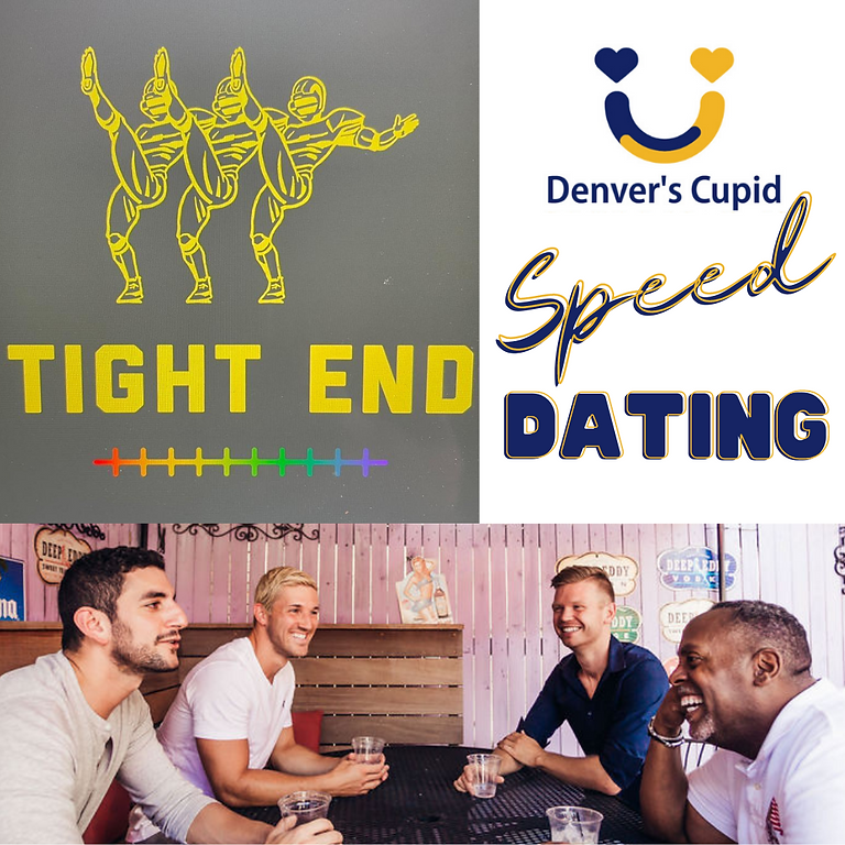Gay Speed Dating Denver 20s-30s at Tight End Bar