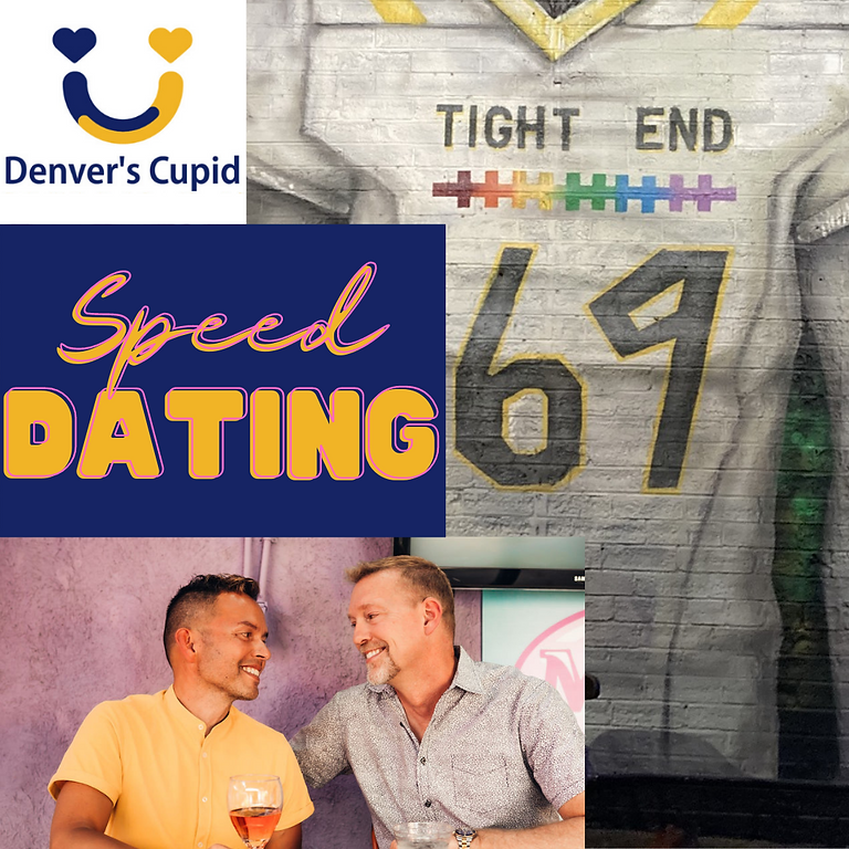 Gay Speed Dating Denver 30s-40s + at Tight End Bar