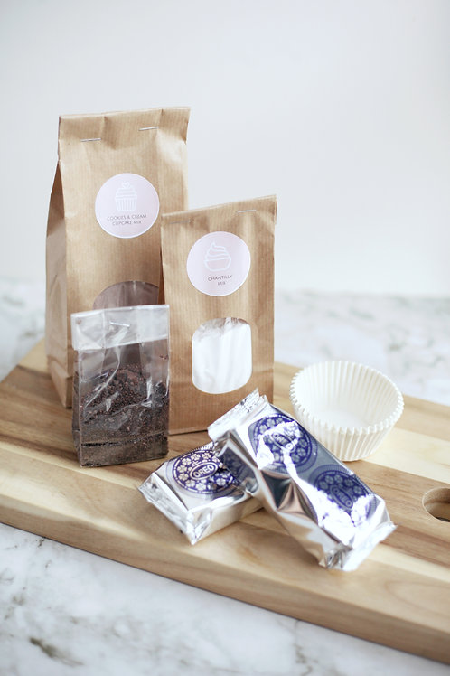 Cookies & Cream baking kit