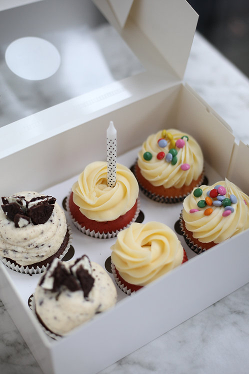 Party cupcakes box