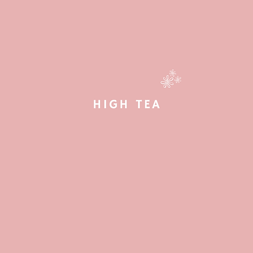Moederdag high tea (prijs p.p vanaf 2 personen)