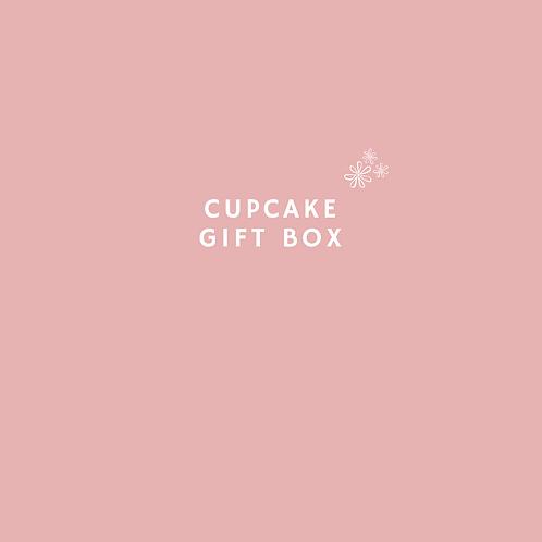 Moederdag cupcake giftbox
