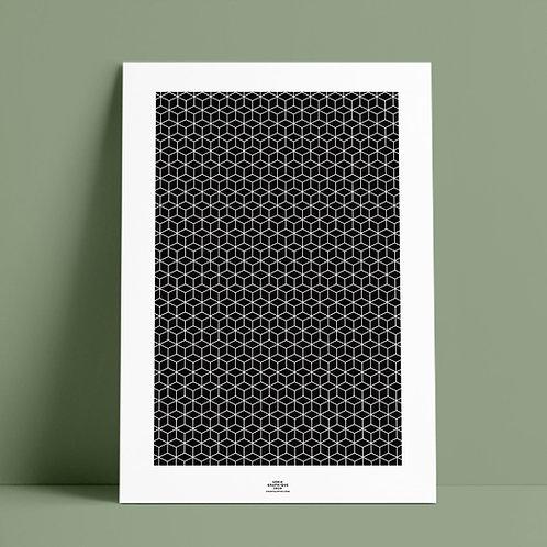 Serié Graphique Black – Geometric 02