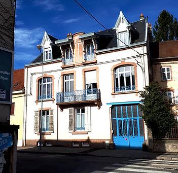 Les Gitesdu 74R à Senones Vosges, la maison, facade sur rue