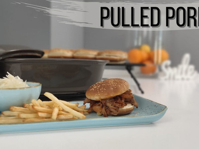 Pulled Pork aus dem Ofenmeister® | Pampered Chef® | zerfällt schon beim anschauen!