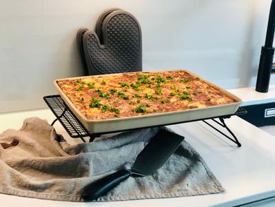 Gratiniertes Kartoffelglück aus dem rechteckigen Ofenzauberer James Plus | Pampered Chef®
