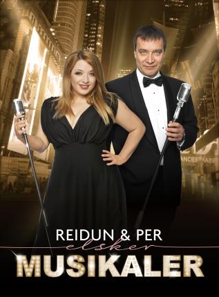 Reidun og Per elsker musikaler