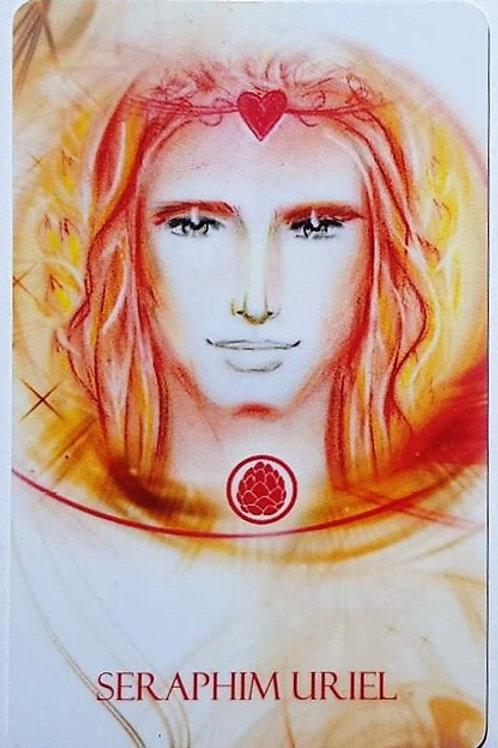 Scheckkarte Seraphim Uriel, Vorderansicht