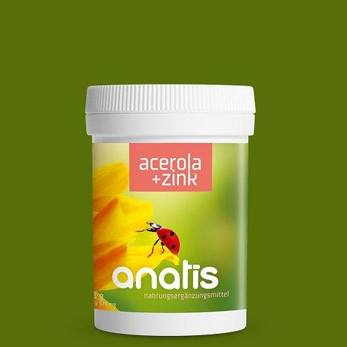 Acerola (Vitamin C) mit Zink 90 Kps.