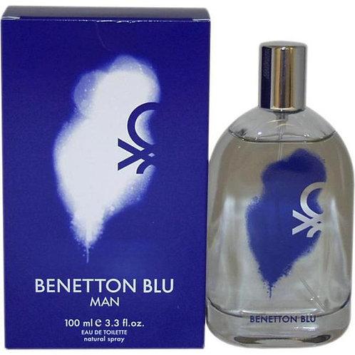 BENETTON BLU EDT 3.3 OZ MEN