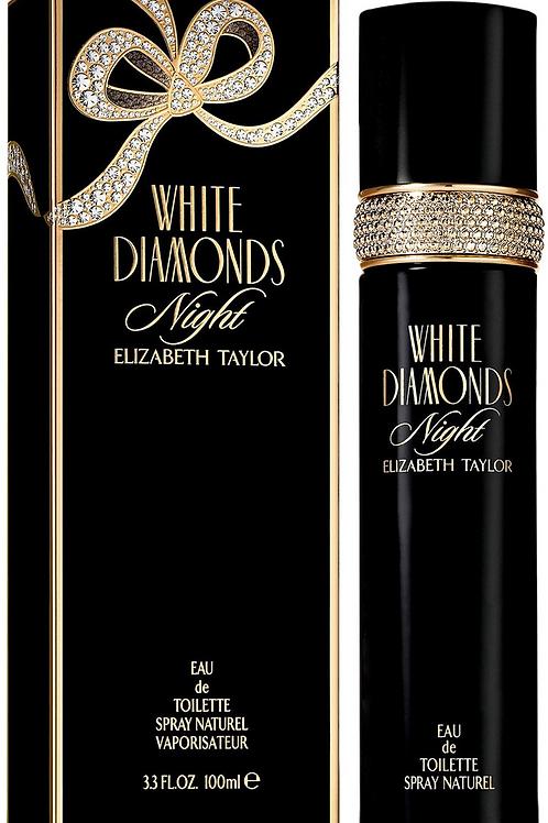 ELIZABETH TAYLOR WHITE DIAMONDS NIGHT EDT 3.3 OZ W