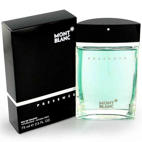 MONT BLANC PRESENCE FOR MEN EDT 2.5 OZ MAN