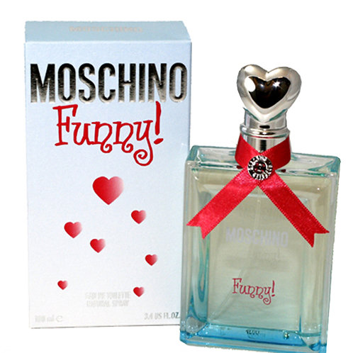 MOSCHINO FUNNY EDT 3.4 OZ WOMAN