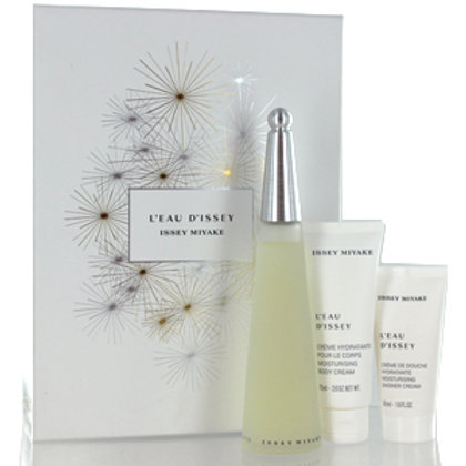 ISSEY MIYAKE L'EAU D'ISSEY SET WOMAN (EDT+BC+SC)
