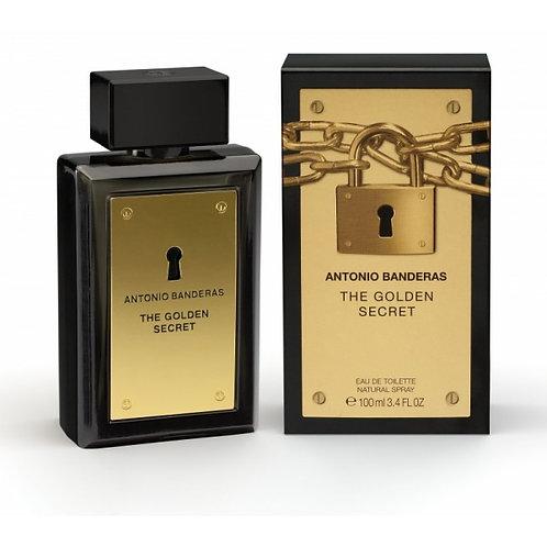 ANTONIO BANDERAS THE GOLDEN SECRET EDT 3.4 OZ MAN