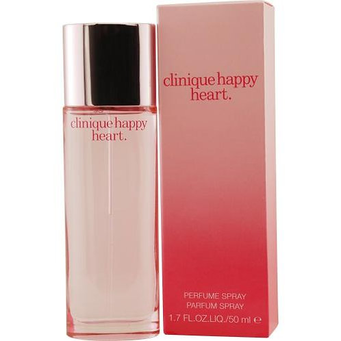 CLINIQUE HAPPY HEART PERFUME 1.7 OZ WOMAN