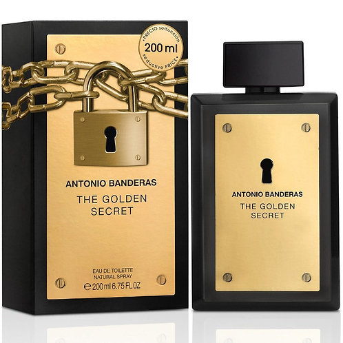 ANTONIO BANDERAS THE GOLDEN SECRET EDT 6.7 OZ MAN