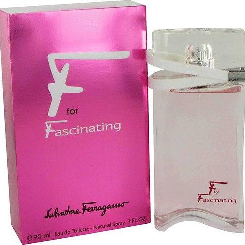SALVATORE FERRAGAMO F FOR FASCINATING EDT 3.0 OZ WOMAN