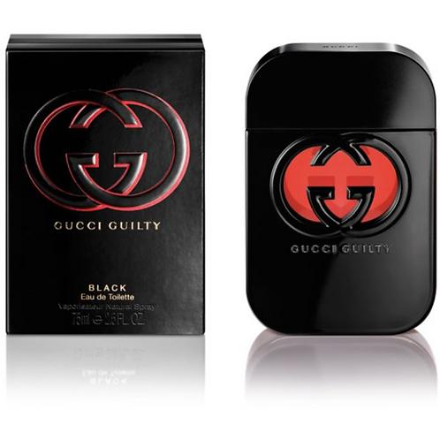 GUCCI GUILTY BLACK EDT 2.5 OZ WOMAN